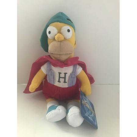 Universal Studios The Simpsons Homer Mascot Baseball Hat Doll Plush 11