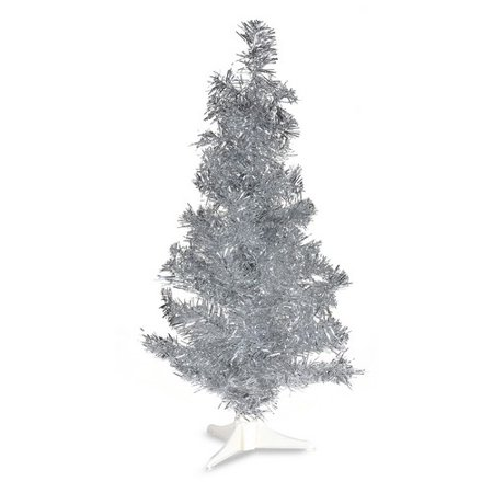 Small Silver Christmas Tree.2 Ft Pvc Christmas Tree Silver