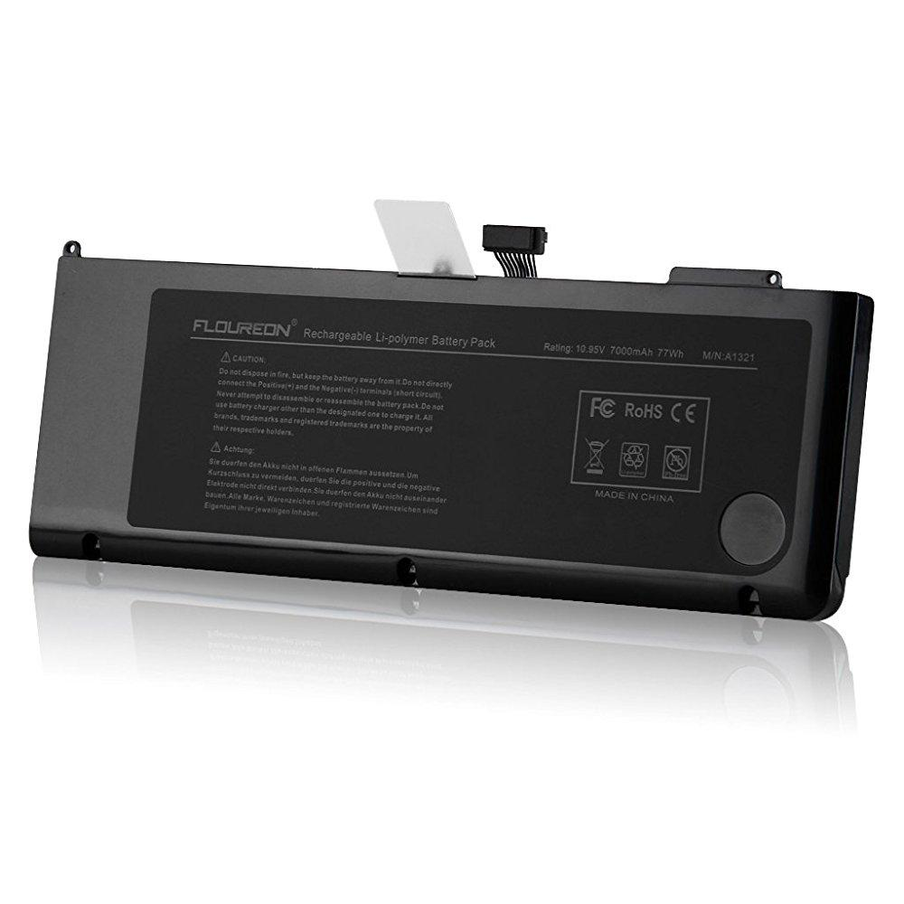 Floureon a1321 battery for macbook pro 15-inch a1321 a128...