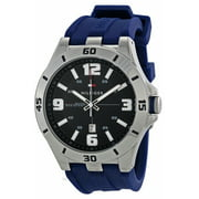 Tommy Hilfiger Men's Drew Rubber Watch 1791062