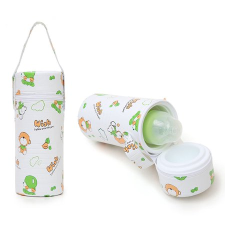 Jeobest Baby Insulated Bottle Tote Bag - Baby Bottle Warm Bag - Baby Feeding Bottle Insulation Bag Warmer Storage Holder Baby Bottle Breast Milk Storage Bag (Single barrel) (Color Random) MZ](Milk Bottles Bulk)