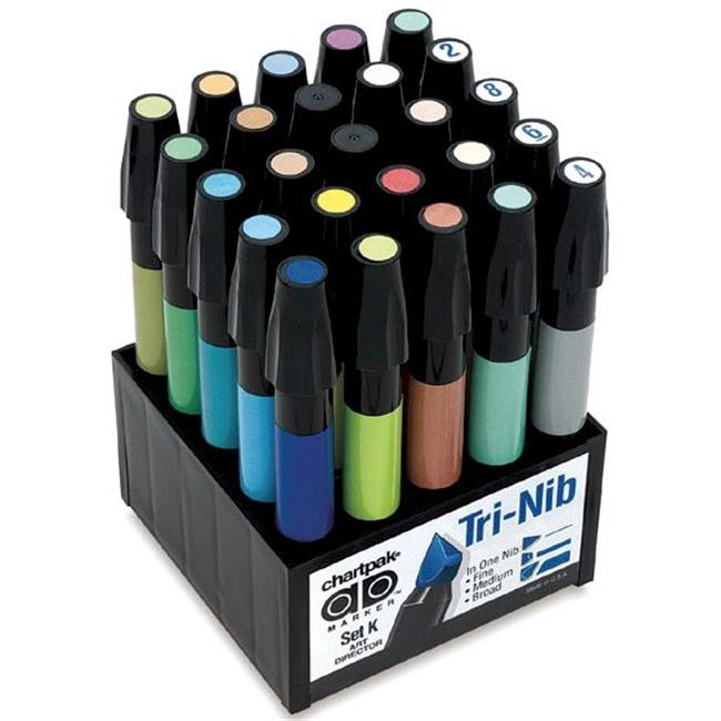 Alvin Setk Art Director Permanent Marker Set