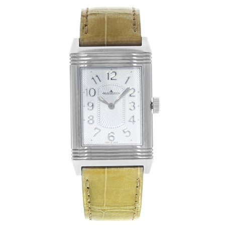 Jaeger LeCoultre Grande Reverso Ultra Thin Steel Ladies Watch Q3208420