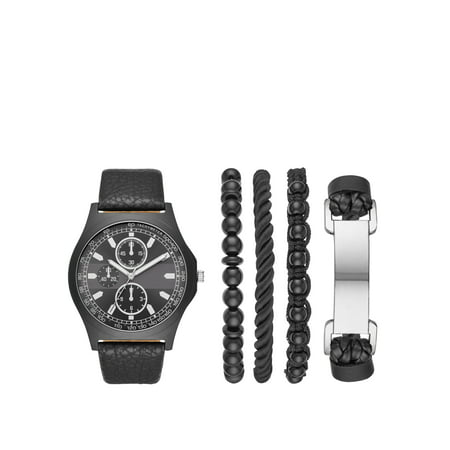 Men's Watch Gift Set with Bracelets ()