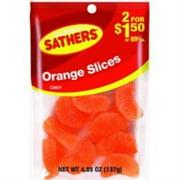 Sathers Orange Slices 12  pack (4.85oz per pack) (Pack of 2)