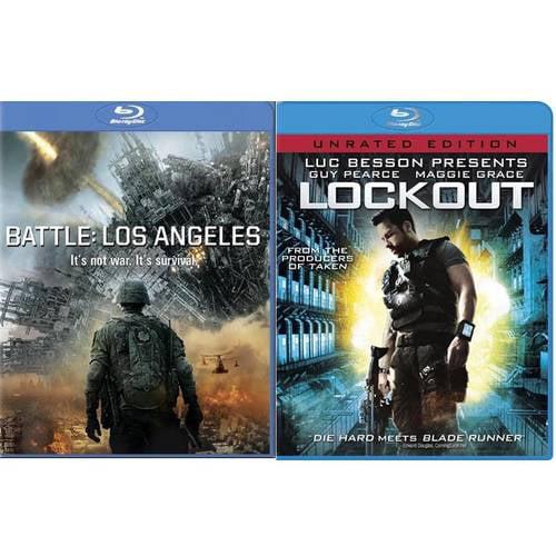 Battle: Los Angeles / Lockout (Blu-ray)