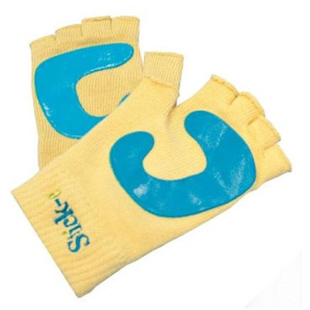 Yoga Stick-e Products 3060 Stick-e Yoga Gloves... for a Secure Grip Beige 1 Pair One Size