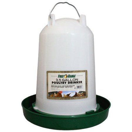 Harris Farms Llc Pet 4221 3 5 Gallon Plastic Poultry Water Fountain