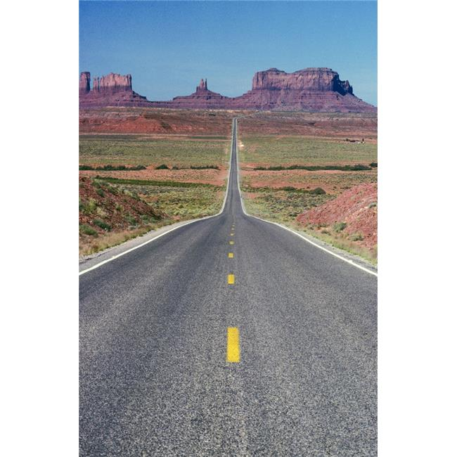 Posterazzi DPI1785039LARGE Monument Valley Utah USA Poster Print by Bilderbuch, 22 x 36 - Large - image 1 de 1