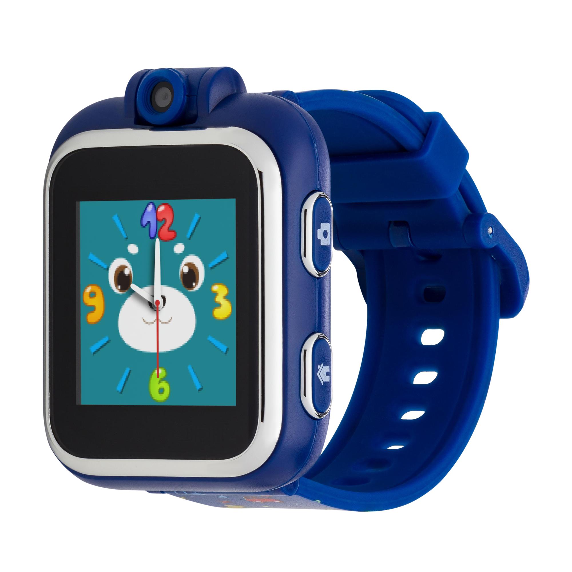 Kids Smartwatch, Black Strap W/car Patte