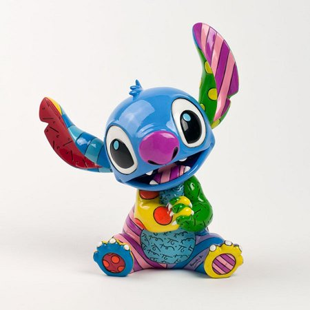Romero Britto Heart (Romero Britto Disney's Lilo and Stitch Pop Art Figurine)