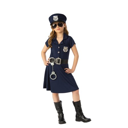 Girl Police Officer Halloween - Fat Halloween Girl