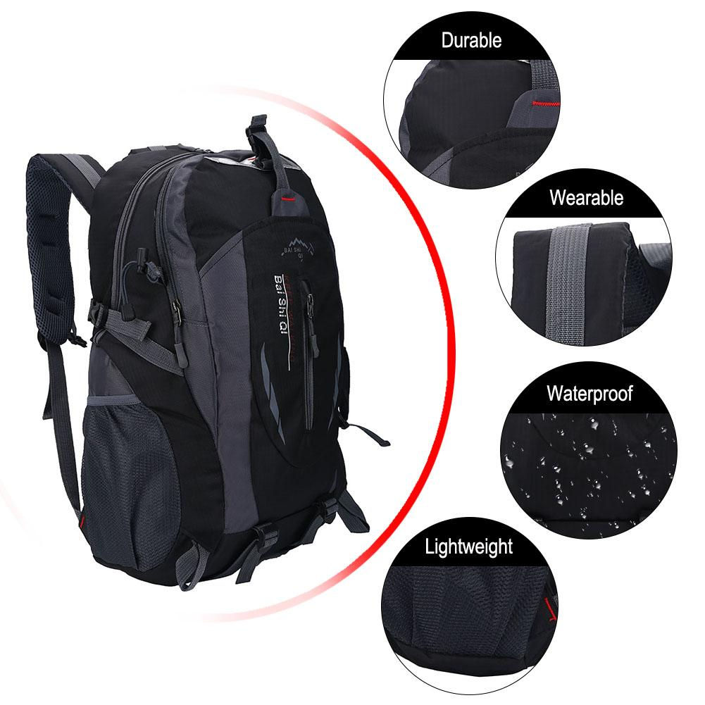 Hiking Backpack,40L Waterproof Daypack Outdoor Sport Rucksack for Travel Trekking Climbing Camping Mountaineering Skiing... by