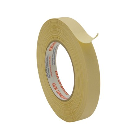 Intertape PG21 High Temperature Masking Tape: 3/4 in. x 60 yds. (Natural)