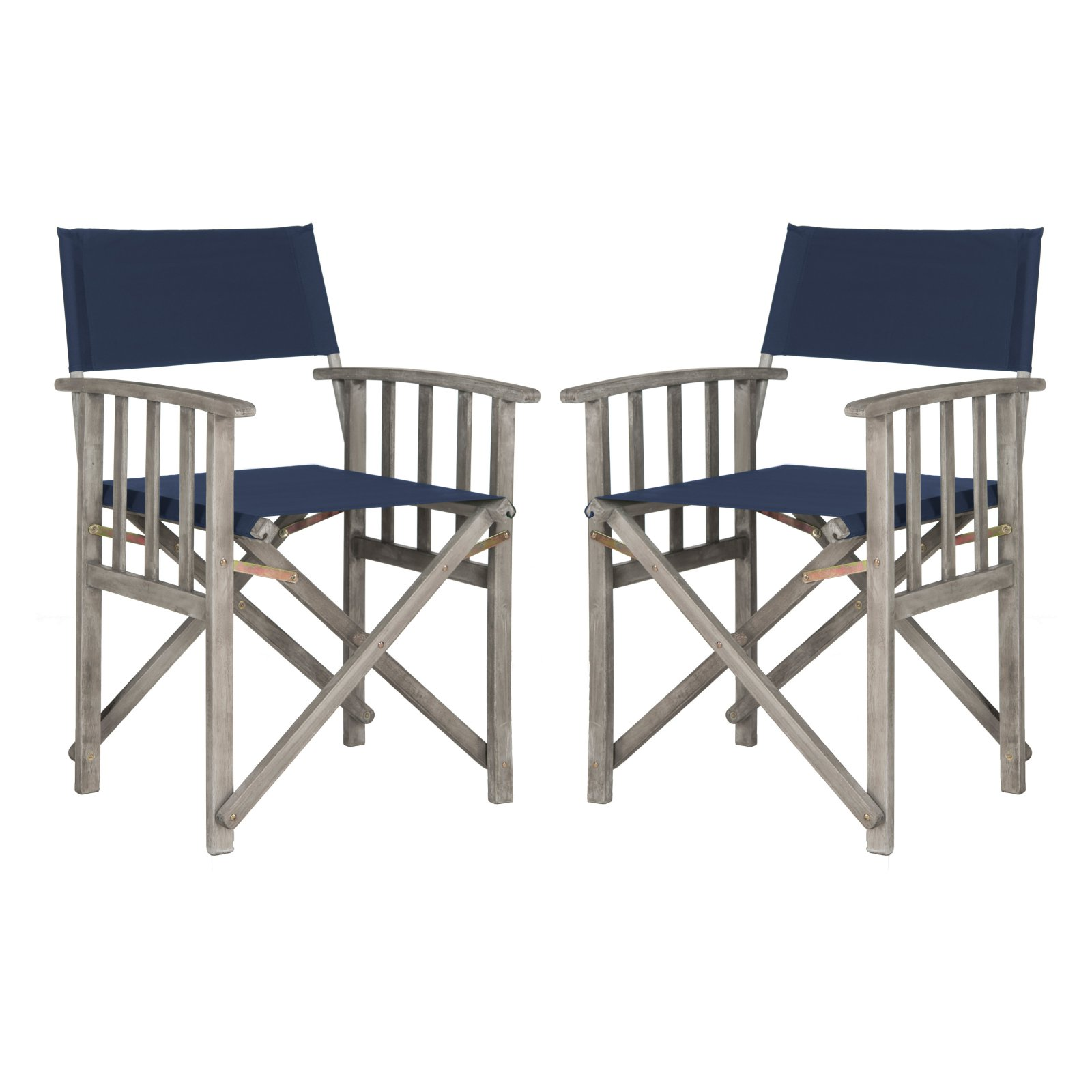 Safavieh Laguna Outdoor Director Chair, Multiple Colors, Set of 2