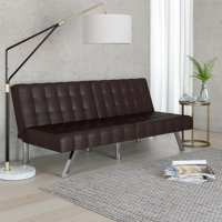 Product Image Mainstays Morgan Tufted Convertible Futon Multiple Finishes