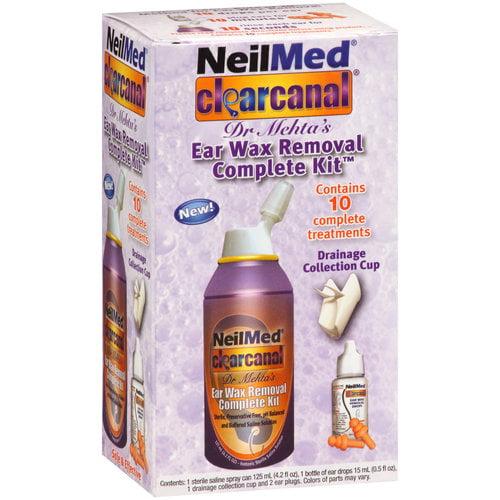 NeilMed Clear Canal Ear Wax Removal Complete Kit - 4.25 oz