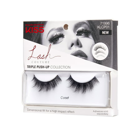 KISS LASH COUTURE Triple Push-Up Collection - - John Collection Eyelash