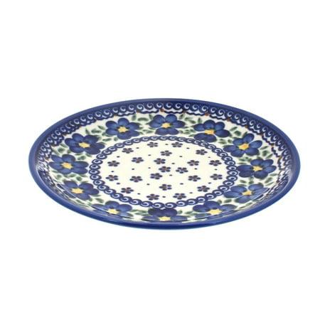 - Polish Pottery Spring Blossom Dessert Plate