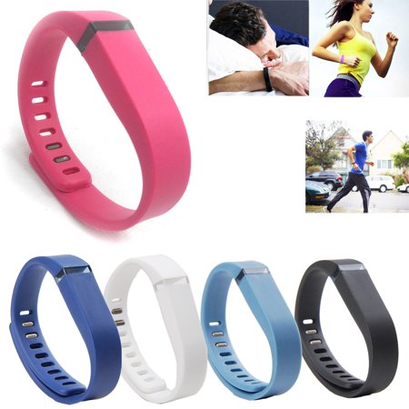 (5 Pack) EEEKit Wrist Band Replacement with Clasp for Fitbit Flex Wireless Activity Fitness Tracker Sleep Wristband