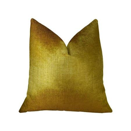 Plutus PBRAZ249-2030-DP Golden Bijou Gold Handmade Luxury Pillow, 20 x 30 in. Queen - image 3 de 3