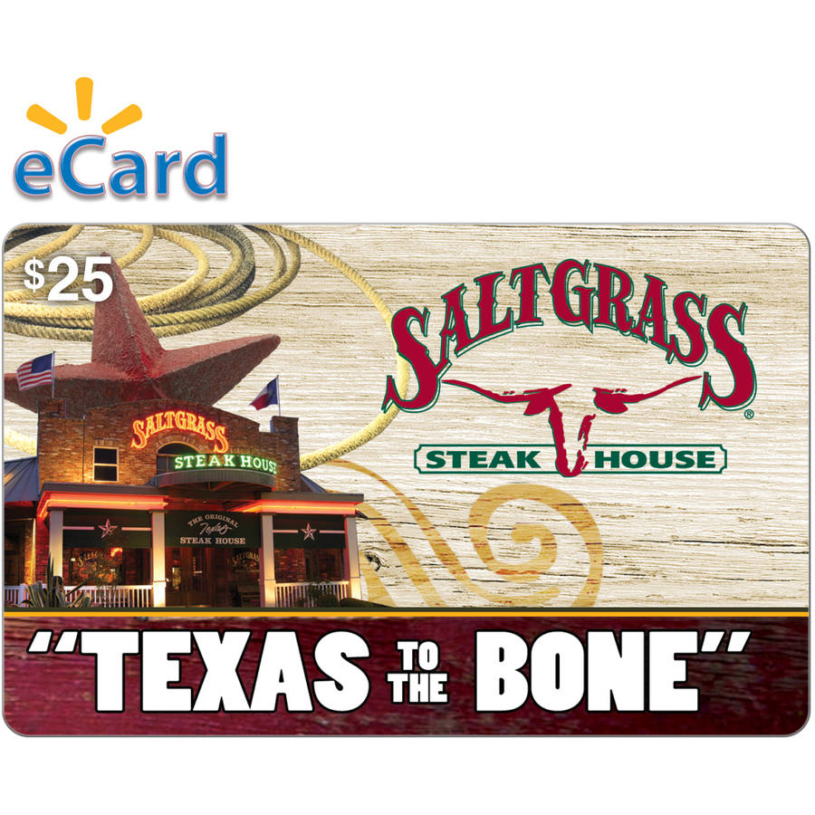 Saltgrass Steakhouse $25 Card (Email Delivery)