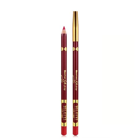 YALAIYI Waterproof Lip Liner Color-preserving Lip Gloss Pencil Long-lasting Lip Pen Gloss Liner Stick Beauty Makeup Tools ()