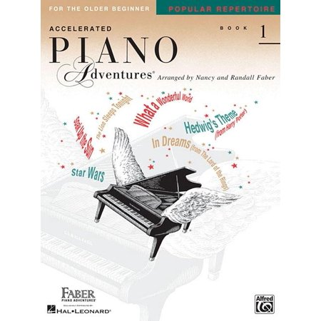 Accelerated Piano Adventures for the Older Beginner, Book 1 : Popular Repertoire ()