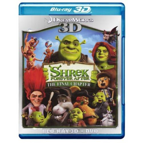 Shrek Forever After: The Final Chapter (3D Blu-Ray   DVD) (Widescreen)
