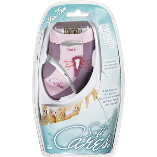 Emjoi Soft Caress Rechargeable Epilator, AP-10R