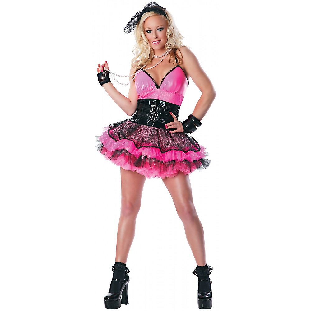 Totally 80s Adult Costume - Medium/Large