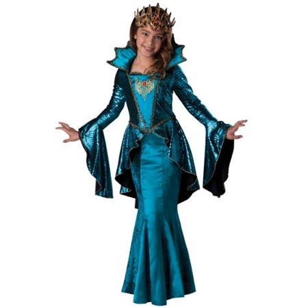 Medieval Queen Child Costume - Mideval Dress