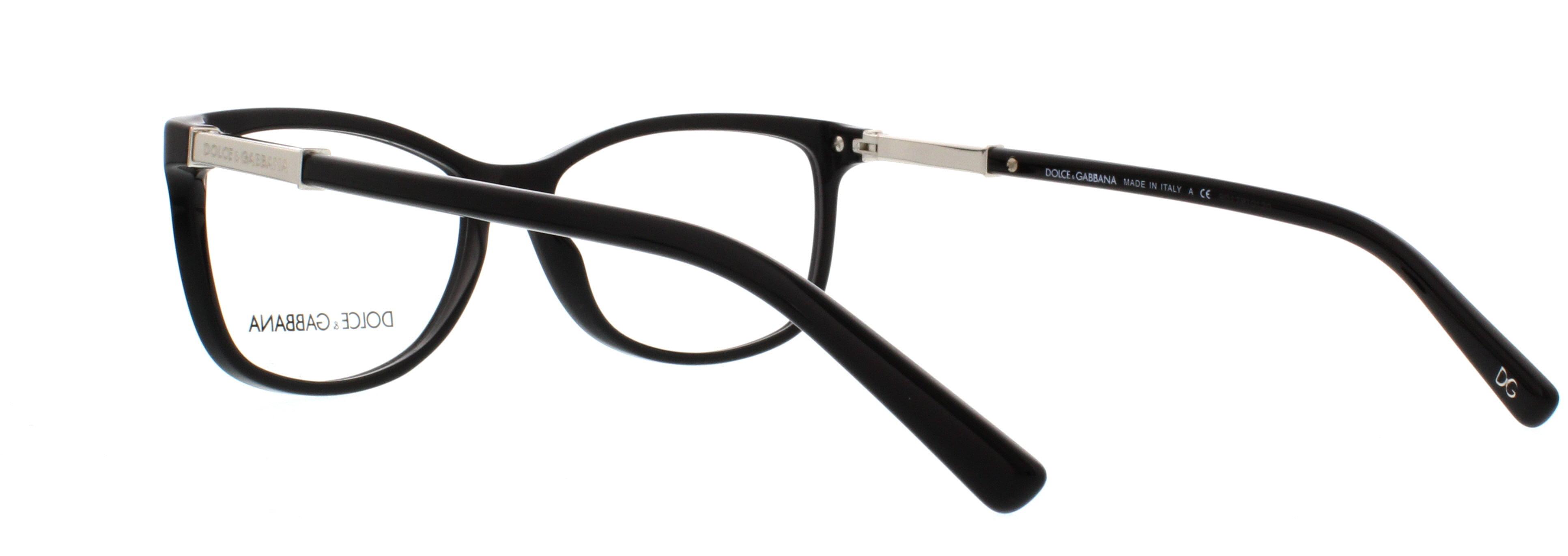 c05e08f20d2 DOLCE   GABBANA Eyeglasses DG 3107 501 Black 54MM