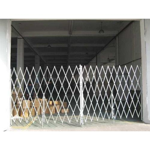 Folding Gate,16 to 18 ft. W x7 ft.H,PR G0044165