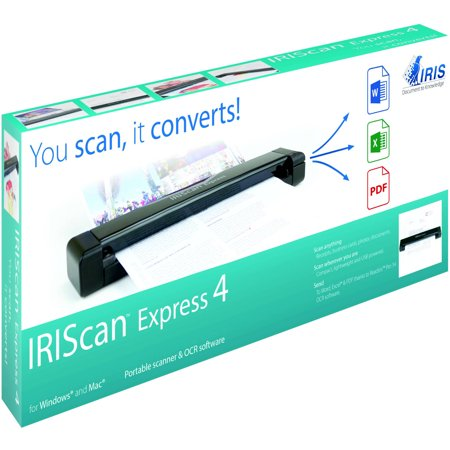 Iriscan Express 4 Portable Scanner