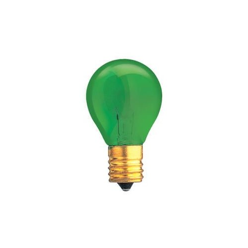 Bulbrite Industries Specialty 10W Transparent Green String Replacement Light Bulb by Bulbrite Industries