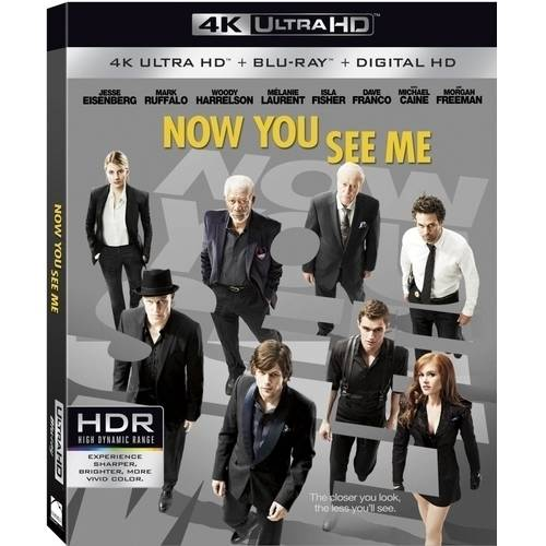 Now You See Me (4K UltraHD + Blu-ray + Digital HD) (With INSTAWATCH)