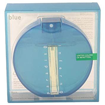 (pack 6) Inferno Paradiso Blue By Benetton Eau De Toilette Spray3.4 oz - image 2 of 2