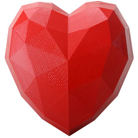 Ebros Gift Decorative Large Red Heart Box 6