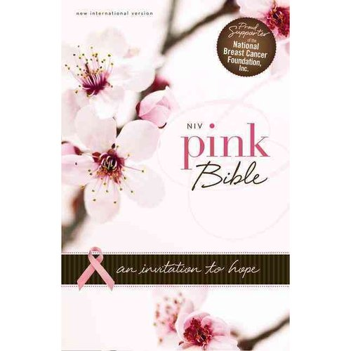 Holy Bible: New International Version, Hot Pink /Pink , Italian Duo-Tone, An Invitation to Hope