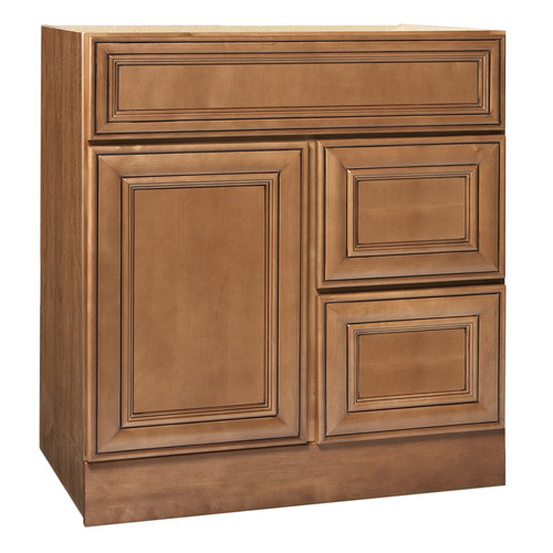 30 Maple Bathroom Vanity coastal collection heritage series 30'' maple bathroom vanity base