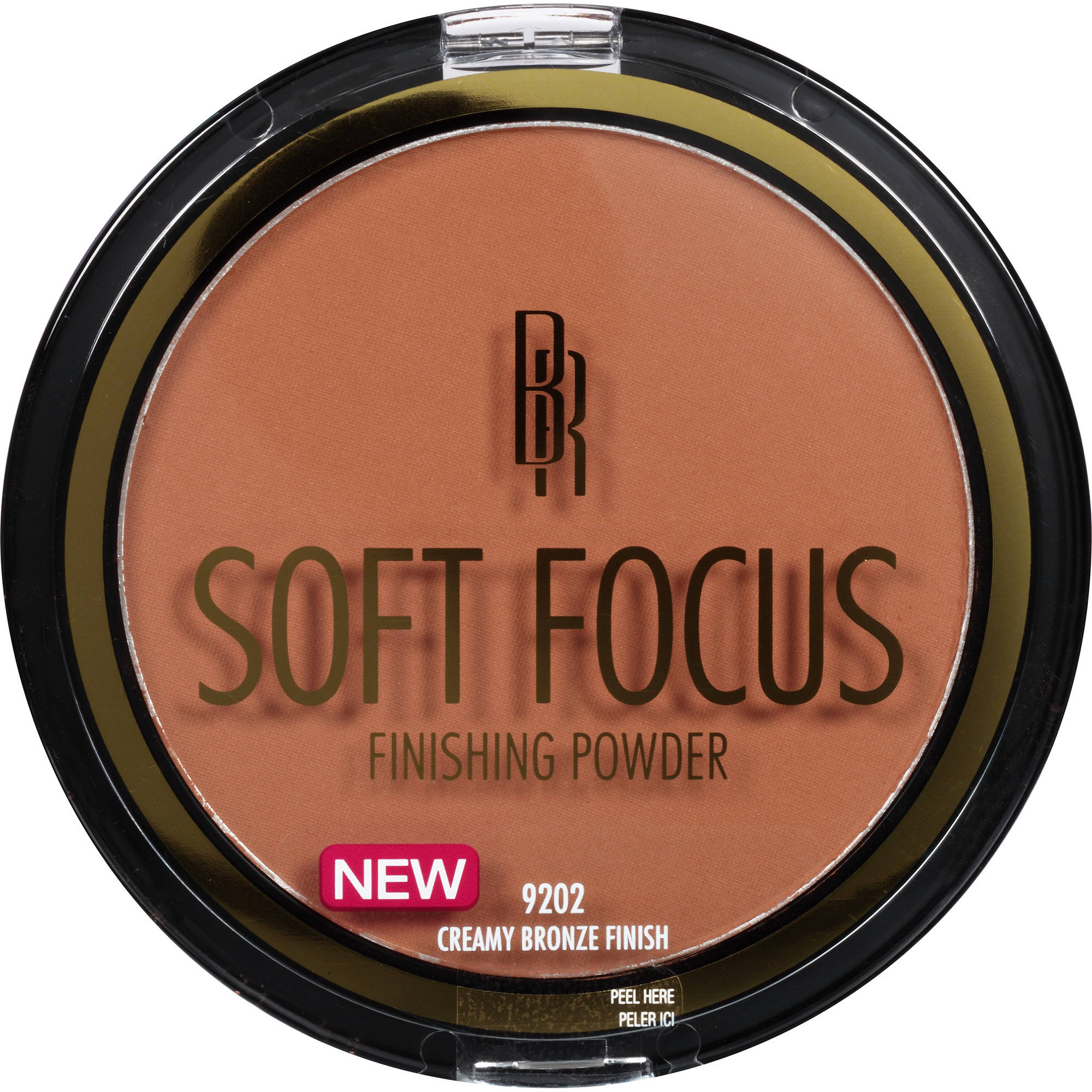 Black Radiance True Complexion Soft Focus Finishing Powder, 9202 Creamy Bronze Finish, 0.46 oz
