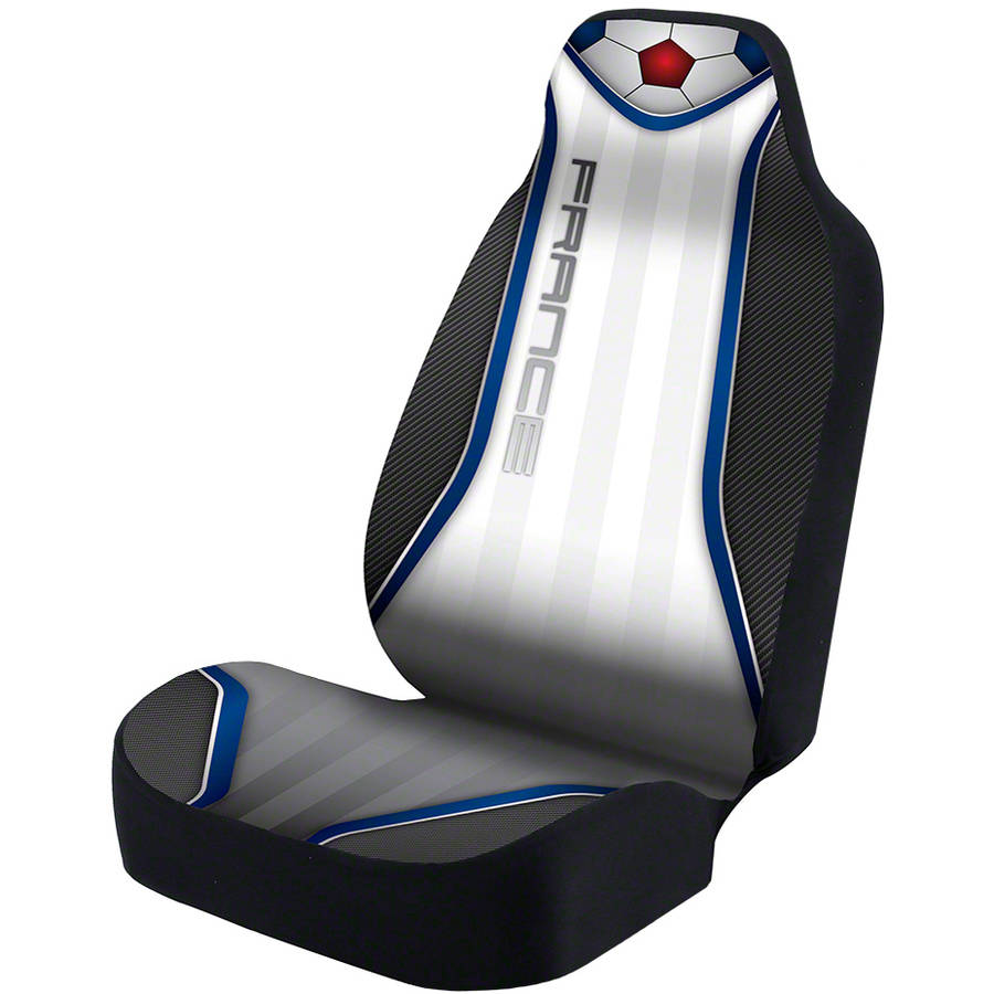 Coverking Universal Seat Cover Designer Ultra Suede, World Cup France