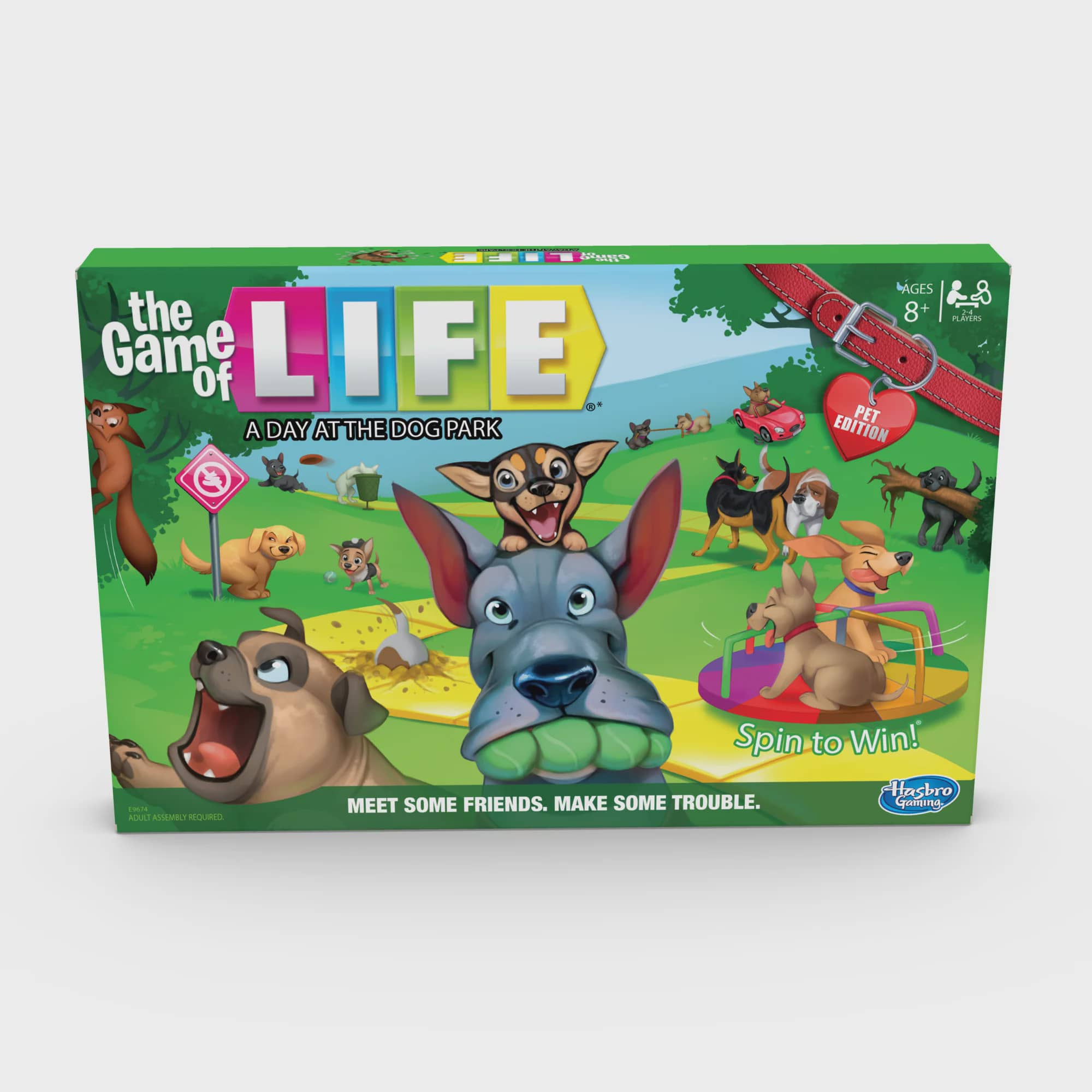 Game of Life: A Day at the Dog Park Board Game - Walmart.com