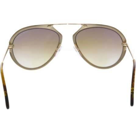Tom Ford Gradient Dashel FT0508-28F-55 Gold Sunglass - image 1 of 3