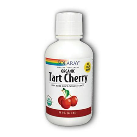 Tart Cherry Juice Organic Solaray 16 oz Liquid