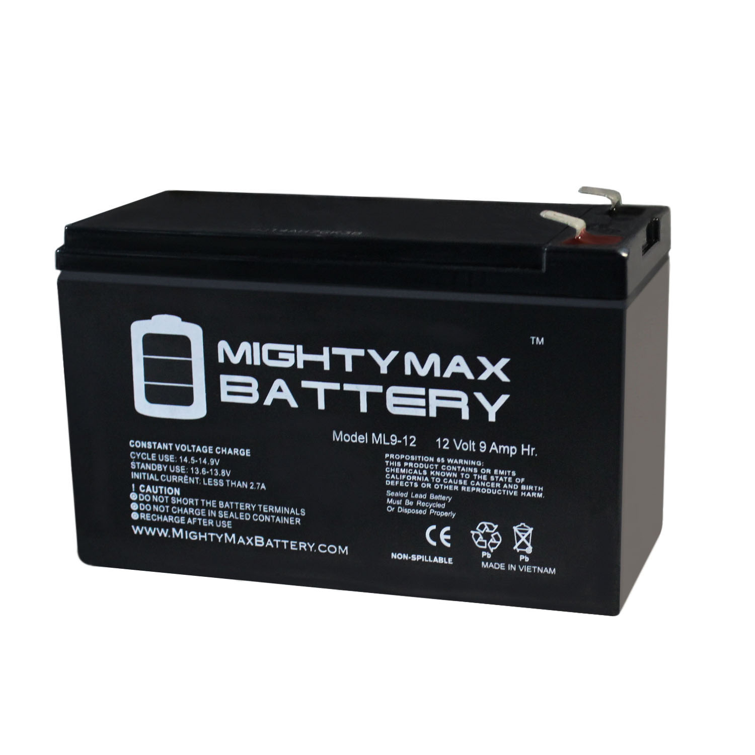 Rechargeable, high Rate Minuteman PRO 420 Replacement Battery