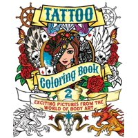 Chartwell Coloring Books Tattoo Book 2 Exciting Pictures From The World Of