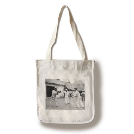- Cock Fighting at World's Columbian Expo Photograph (100% Cotton Tote Bag - Reusable)