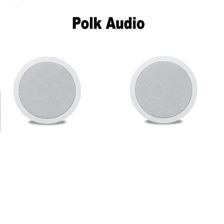 (1 Pair) Polk Audio MC60 High Performance In-Ceiling Speaker -